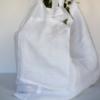 Linen Tote - Side Pocket